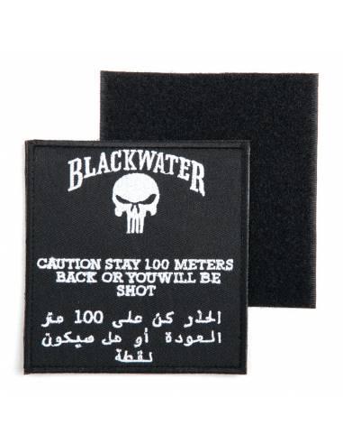 Écusson Blackwater 100mtr avec velcro