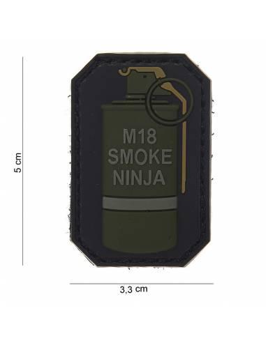 Écusson PVC 3D M-18 SMOKE NINJA