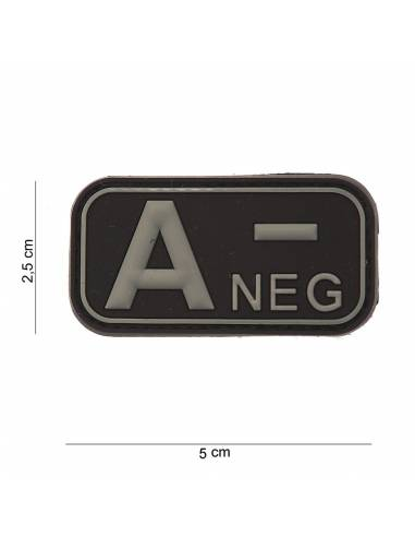 Patch PVC 3D - Neg