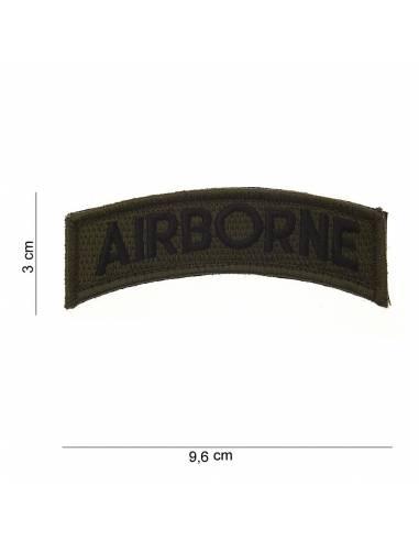 Écusson Airbone avec velcro