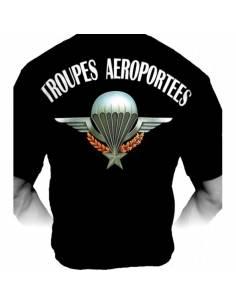 T-Shirt PARATROOPER Troupes Aéroportées (Brevet TAP)