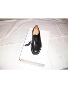 Chaussure basse en cuir noir