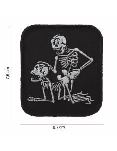 Écusson 2 squelettes