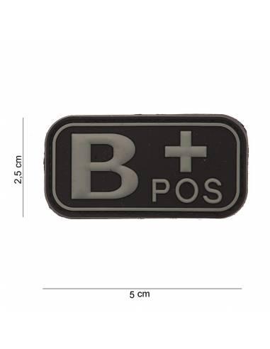 Écusson PVC 3D B+ Pos