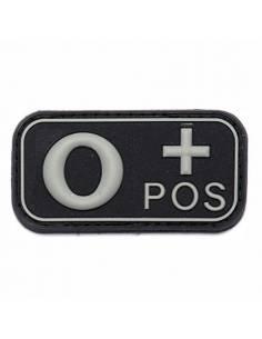 Écusson PVC 3D O+ Pos