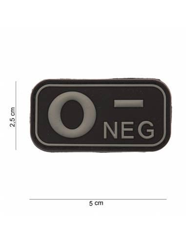 Écusson PVC 3D O- Neg