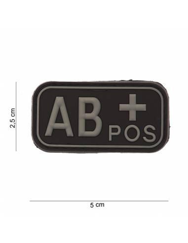 Écusson PVC 3D AB+ Pos