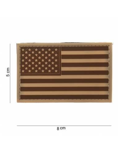 Patch PVC 3D USA Desert