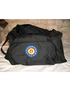 A black transport bag