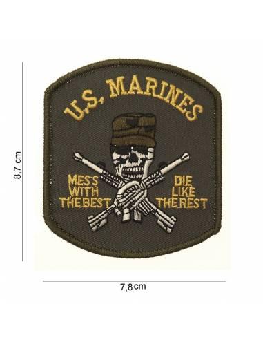 Écusson US Marines (skull)
