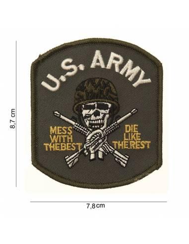 Écusson US Army (skull)