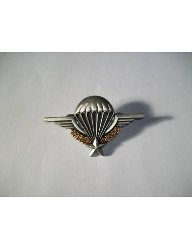 Badge patent parachutist with the French military