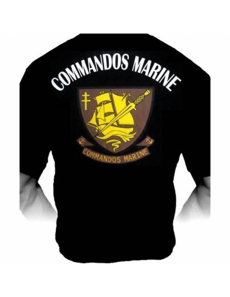 T-shirt Commando marine