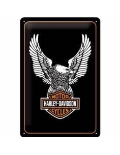 Petite plaque Harley Davidson Aigle