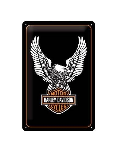 A small plate, Harley Davidson Eagle