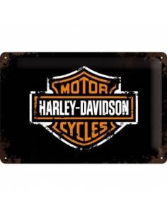 A small plate, Harley Davidson