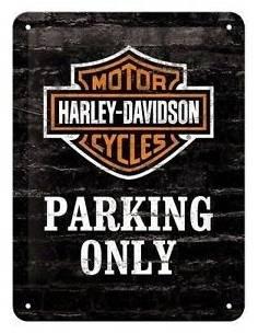 Petite plaque Parking only