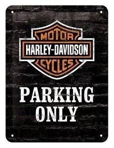 Small plate Parking only