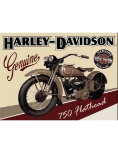Magnet Harley Davidson Genuine 750 Flathead