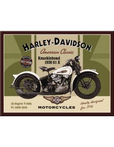 Magnet Harley Davidson knucklehead 1936