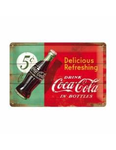 Petite Plaque Coca-Cola 5C