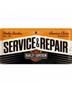 Plaque Harley Davidson Service & Repair