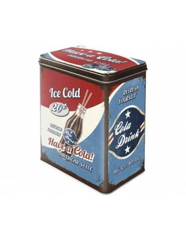 Boîte de rangement Have a Cola!
