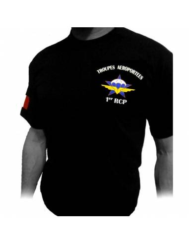 Tee-Shirt 1er RCP ( Régiment de Chasseurs Parachutistes )