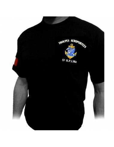 Tee-Shirt 8eme RPIMa (Régiment Parachutistes d'Infanterie de Marine)