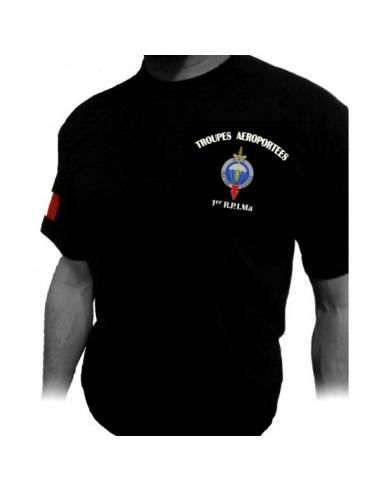 Tee-Shirt 1er RPIMa (Régiment Parachutistes d'Infanterie de Marine)