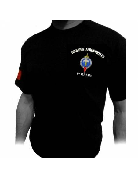 T-Shirt 1er RPIMa (Regiment Parachutistes d'infanterie de Marine)
