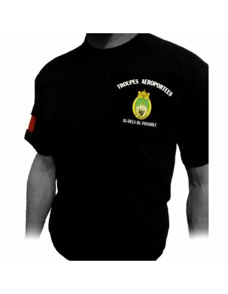 T-Shirt with the 13th RDP (Regiment de Dragons Parachutistes)