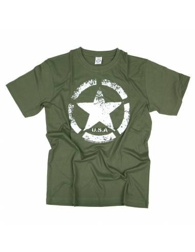 bba960ba0 T-Shirt vintage star US ARMY - Stock Americain