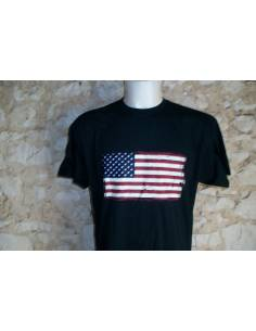 T-shirt drapeau U.S.A