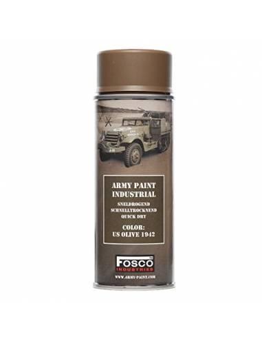 PAINT MILITARY SPRAY FOSCO 400 ML US OLIVE 1942