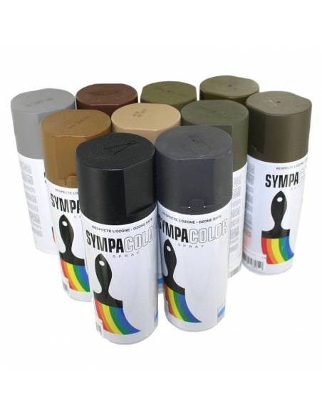 Peinture sympacolor - brun marron mat France 400ml