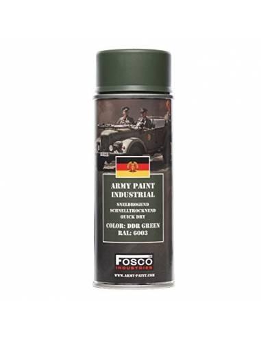 PAINT MILITARY SPRAY FOSCO 400 ML DDR GREEN AEROSOL