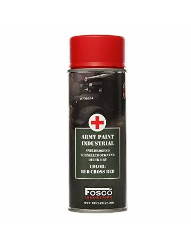 PAINT MILITARY SPRAY FOSCO 400 ML RED CROSS