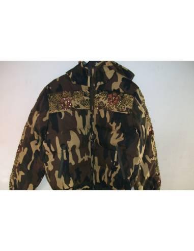 Jacket camouflaged