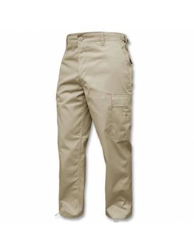 Pantalon beige Fostex