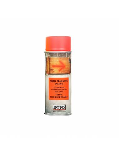 PAINT MILITARY SPRAY FOSCO 400 ML FLUORESCENT PINK PETANT