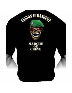 """Tee-shirt Légion étrangère """"marche ou crève"""""""