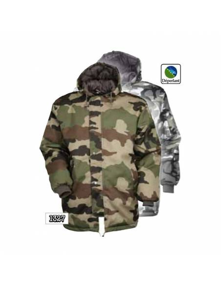 Parka Military Quilted Camouflage THIS