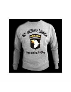 Sweater 101st airborne, writing black