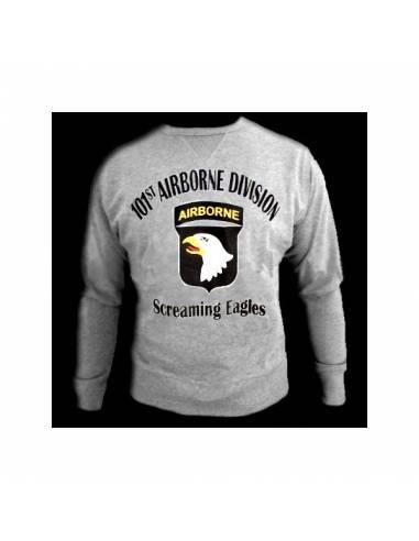 Sweater 101st airborne, writing black