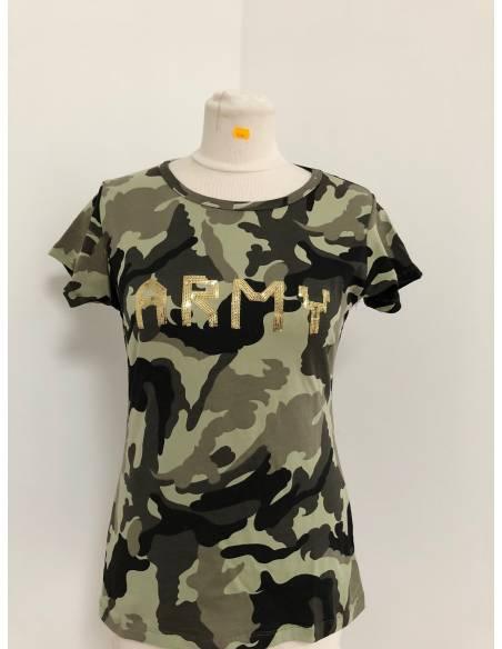T-shirt short sleeve ARMY