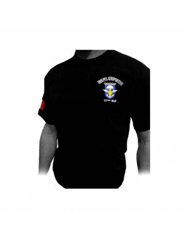 T-Shirt PARATROOPER 17th RGP...