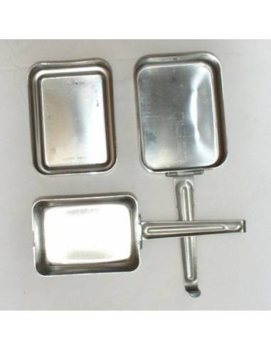 Mess tin 3 Aluminum plates French Army