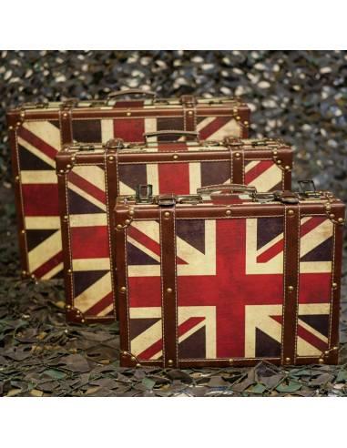 valise déco drapeau Anglais
