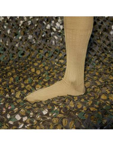 Lot socks derby Italian Army sand